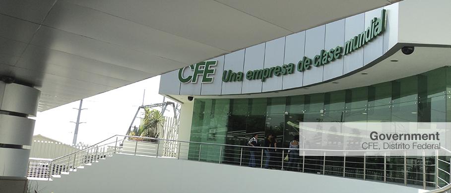 Cfe centenario for Oficina ing zaragoza